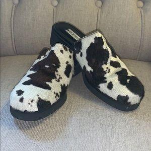 Cowhide Mules